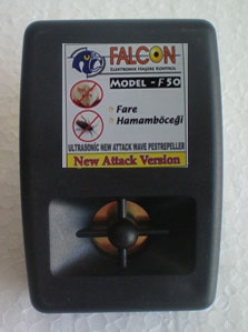 Ultrasonik Fare Kovucu Falcon F-50