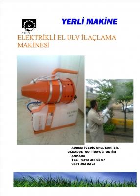 elektrikli  el  ULV  cihazı